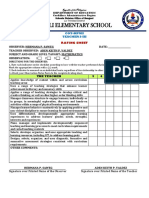Cot Rpms Rating Sheet