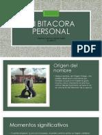 Mi Bitacora Personal