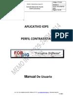 (02052014) Manual de Usuario Perfil Contratista