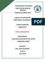 Amnioscopia Expo 2