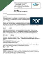 Td Geral de Físico-química - Específicas