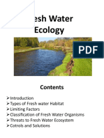 Fresh Water Ecology UOL
