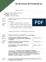 Evaluación Diagnóstica cursos en linea