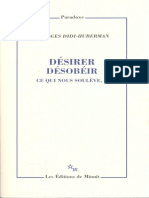 Georges Didihuberman Desirer Desobeir Tome 1 Ce Qui Nous Souleve