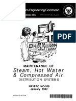Maintenance of Steam, Hot Water & Compressed Air Distribution Systems