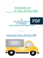 E Way Bill Presentation
