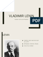 Vladimir Lenin 2014