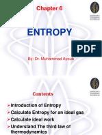 Chapter 6 Entropy