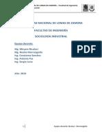 01 - Sociologia de Las Organizaciones - Teoria