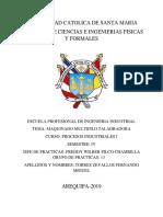 Procesos Industriales Informe Taladro
