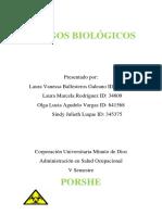 RIESGOS BIOLÓGICOS cartilla