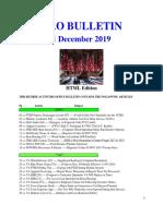 Bulletin 191201 (HTML Edition)
