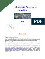Vet State Benefits - NE 2019