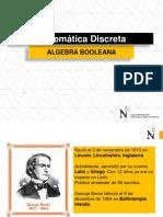 S9-MATDIS2019-2 Algebra de Boole