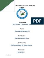 Tarea 7 Serhumano y Desarrollo Sostenible Wialliana