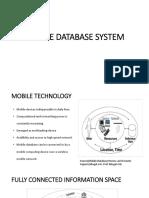 Mobile Database Management System 3