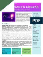 st saviours newsletter - 1 dec 2019 - advent 1
