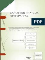 3. Captacion de Aguasa Subterraneas