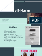 Presentation about Self-harm (Dhiyah Mumpuni 1806203654).pptx