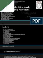Identificación de Susceptibilidad y Resistencia a Diversas Sustancias