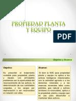 Sesion 7 - Propiedad Planta y Equipo