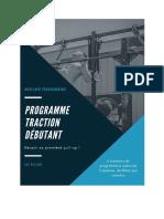 Programme Traction Débutant Luc Millier V2