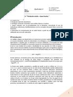3-Trabajo Práctico Nº3 - Equilibrio Ácido Base I