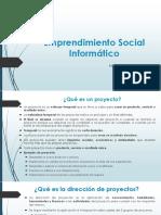 Emprendmiento Social Informatico