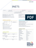 Ipv6 subnet cheatsheet