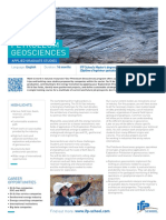 Program Brochure Petroleum Geosciences en 2019