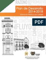 Plan de Desarrollo Estrategico 2014-2018