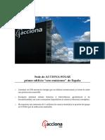 Acciona-Solar Building Es