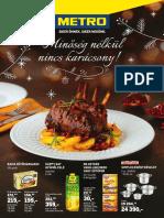 Metro Akcios Ujsag Elelmiszer Es Szezonalis Katalogus 20191204 1217