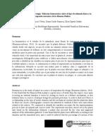 Artículo; Relación Biomecánica Entre El Tipo de Estímulo Físico y La Respuesta Mecánica de La Mimosa Púdica