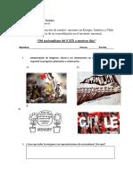 Guía prof. ausente 1° medio. Historia