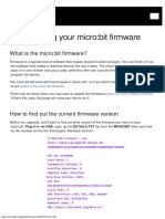 Firmware Microbit