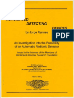 Automated Detecting Devices