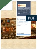PAHALWAN Case Study