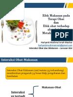 4 5 6 Efek Makanan Pada Terapi Obat, Absorbsi, Metabolisme