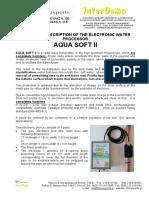 11.Aqua Soft II - Technical Description 18.11.19