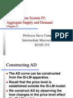 Froyen09 Keynes4 AD & As