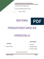 Sistema Presupuestario en Venezuela