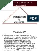economics and principles of management