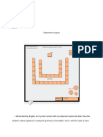 classroom layout rationale