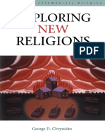 (Issues in Contemporary Religion) George D. Chryssides-Exploring New Religions-Cassell (2000)