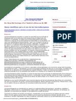 Bases Científicas Para El Uso de Las Benzodiazepinas