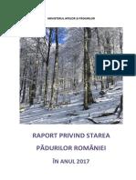 Starea Pădurilor În Anul 2017