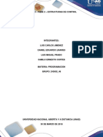 Fase 2 Estructuras