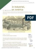 Revolución Industrial, Impacto en América_ Revolución Industrial, Impacto en América