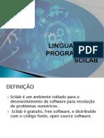 Apresentação_liguagem Scilab Eq 2 Grau